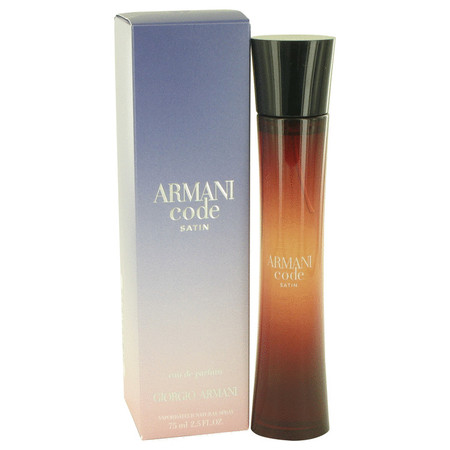 Armani Code Satin Perfume by Giorgio Armani, 75 ml Eau De Parfum Spray for Women
