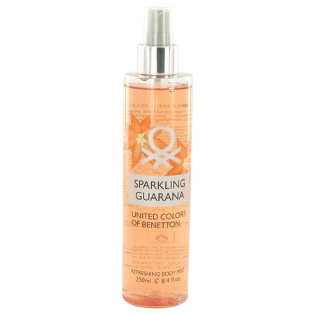 Benetton Sparkling Guarana Perfume by Benetton, 248 ml Refreshing Body Mist for Women