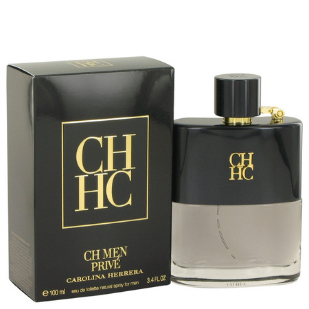 Ch Prive Cologne by Carolina Herrera, 100 ml Eau De Toilette Spray for Men
