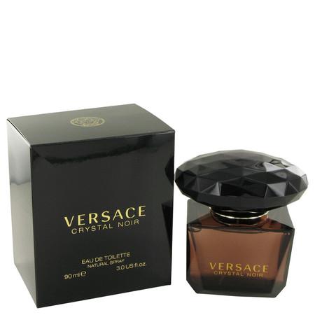 Crystal Noir Perfume by Versace, 90 ml Eau De Toilette Spray for Women