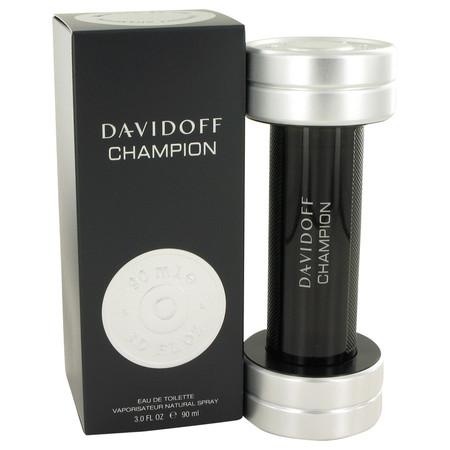 Davidoff Champion Cologne by Davidoff, 90 ml Eau De Toilette Spray for Men