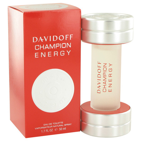 Davidoff Champion Energy Cologne by Davidoff, 50 ml Eau De Toilette Spray for Men