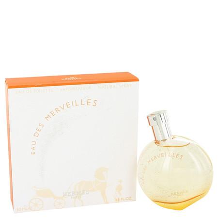 Eau Des Merveilles Perfume by Hermes, 50 ml Eau De Toilette Spray for Women