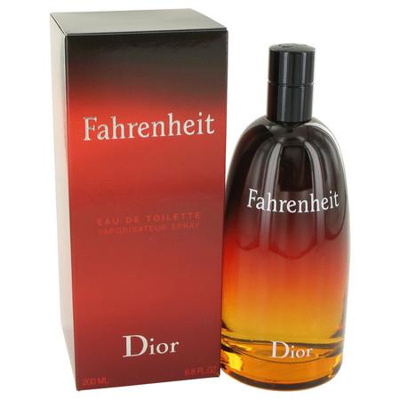 Fahrenheit Cologne by Christian Dior, 200 ml Eau De Toilette Spray for Men