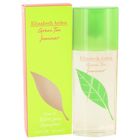 Green Tea Summer Perfume by Elizabeth Arden, 100 ml Eau De toilette Spray for Women