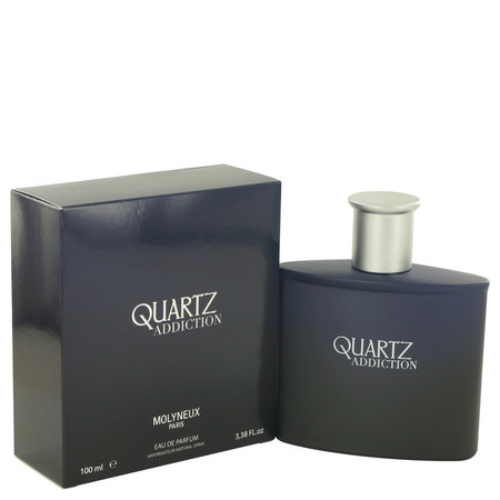 Quartz Addiction Cologne by Molyneux, 100 ml Eau De Parfum Spray for Men