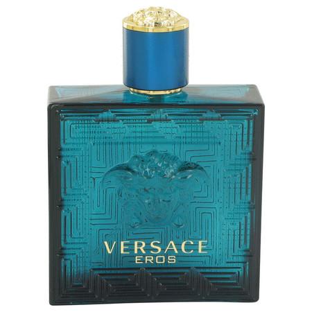 Versace Eros Cologne by Versace, 100 ml Eau De Toilette Spray (Tester) for Men