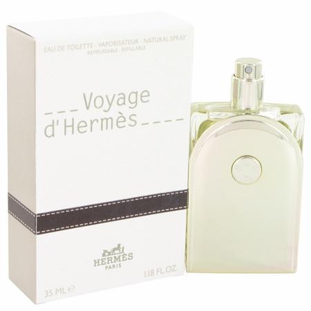 Voyage D'hermes Cologne by Hermes, 35 ml Eau De Toilette Spray Refillable for Men