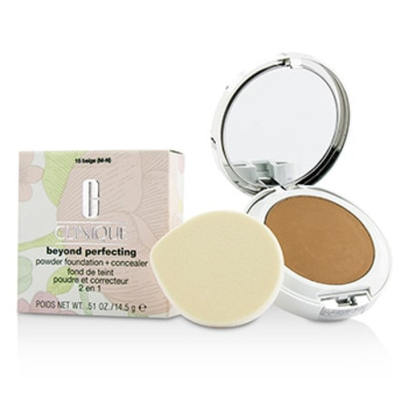 Clinique Beyond Perfecting Powder Foundation + Corrector - # 15 Beige (M-N) 14.5g/0.51oz