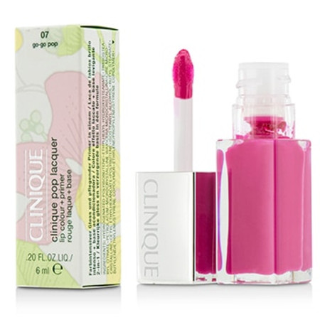 Clinique Pop Lacquer Lip Colour + Primer  - # 07 Go-Go Pop 6ml/0.2oz