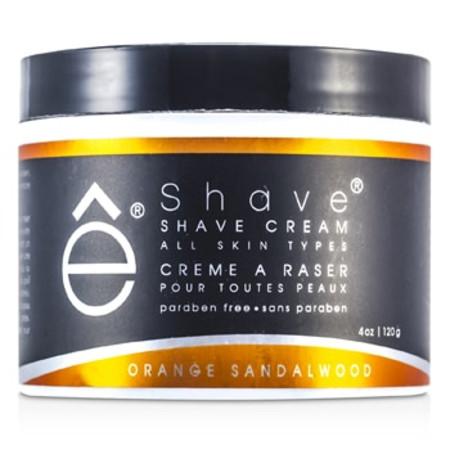 EShave Shave Cream - Orange Sandalwood 120g/4oz