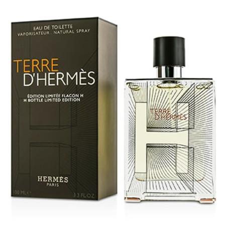 Hermes Terre D'Hermes Eau De Toilette Spray (2014 H Bottle Limited Edition) 100ml/3.3oz