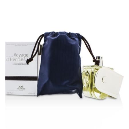 Hermes Voyage D'Hermes Eau De Toilette Refillable Spray (Chevon Canvas Limited Edition) 100ml/3.3oz