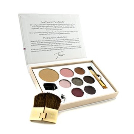 Jane Iredale Color Sample Kit - Medium Dark (1xPressed Foundation  1xBlush  1xConcealer  3xEye Shadow  1xLipstick  1xLip Gloss ...) -