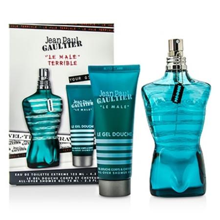 Jean Paul Gaultier Le Male Terrible Coffret: Eau De Toilette Extreme Spray 125ml/4.2oz + All-Over Shower Gel 75ml/2.5oz 2pcs