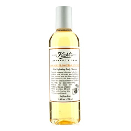 Kiehl's Orange Flower & Lychee Skin Softening Body Cleanser 250ml/8.4oz