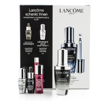 Lancome Genifique Advanced Set: Genifique Advanced Concentrate 30ml & 7ml + Genifique Yeux Light-Pearl 5ml + DreamTone #1 Fair 5ml 4pcs