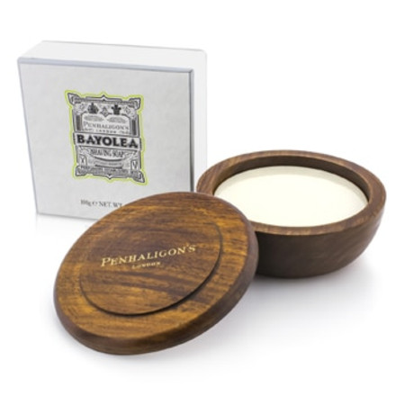 Penhaligon's Bayolea Shaving Soap In Wooden Bowl 100g/3.5oz