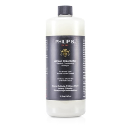 Philip B African Shea Butter Gentle & Conditioning Shampoo (For All Hair Types  Normal to Color-Treated) 947ml/32oz