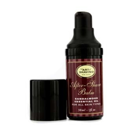 The Art Of Shaving After Shave Balm - Sandalwood Essential Oil (Travel Size  Pump  For All Skin Types) 30ml/1oz