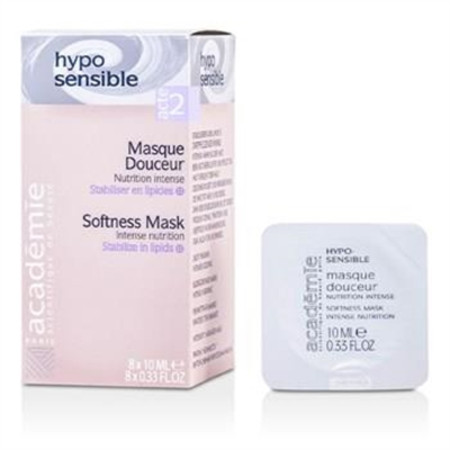 Academie Hypo-Sensible Softness Mask Intense Nutrition 8x10ml Skincare