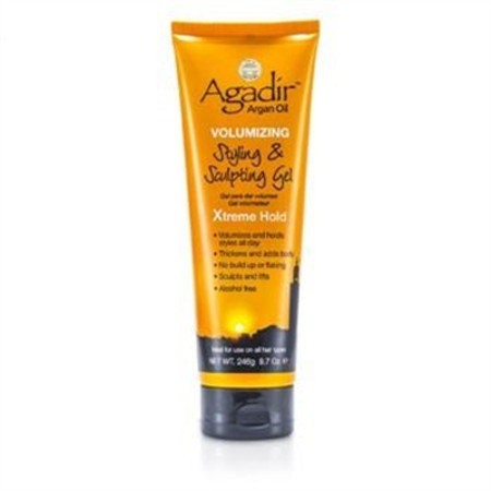 Agadir Argan Oil Volumizing Styling & Sculpting Gel - Xtreme Hold (For All Hair Types) 246g/8.7oz Hair Care