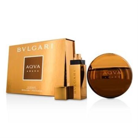Bvlgari Aqva Amara Coffret: Eau De Toilette Spray 100ml/3.4oz + Eau De Toilette Spray 15ml/0.5oz 2pcs Men's Fragrance