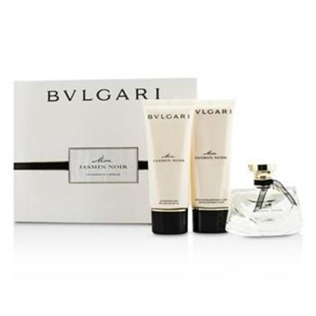 Bvlgari Mon Jasmin Noir Coffret: Eau De Parfum Spray 75ml/2.5oz + Bath & Shower Gel 100ml/3.4oz + Body Lotion 100ml/3.4oz 3pcs Ladies Fragrance