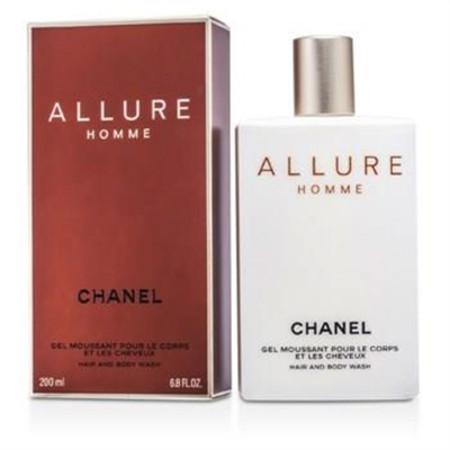 Chanel Allure Hair & Body Wash (Made in USA) 200ml/6.8oz Men's Fragrance