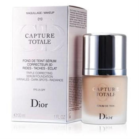 Christian Dior Capture Totale Triple Correcting Serum Foundation SPF25 - # 010 Ivory 30ml/1oz Make Up