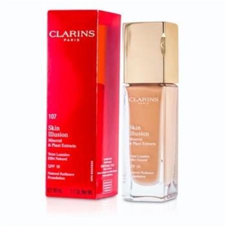 Clarins Skin Illusion Natural Radiance Foundation SPF 10 - # 107 Beige 402671 30ml/1oz Make Up