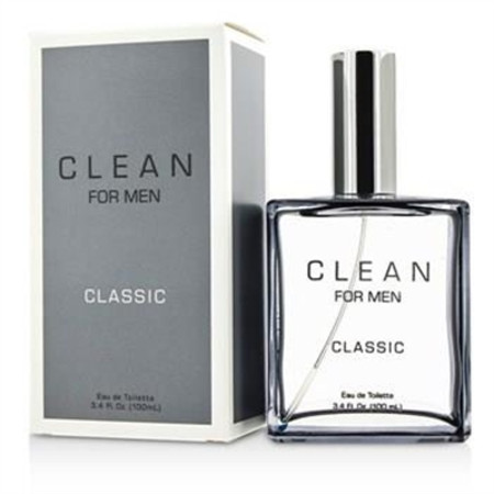 Clean Clean For Men Classic Eau De Toilette Spray 100ml/3.4oz Men's Fragrance