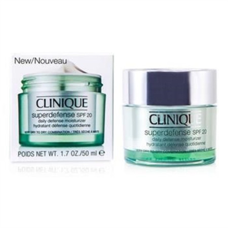 Clinique Superdefense Daily Defense Moisturizer SPF 20 (Very Dry to Dry Combination) 50ml/1.7oz Skincare