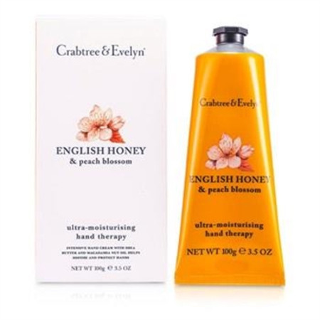 Crabtree & Evelyn English Honey & Peach Blossom Ultra-Moisturising Hand Therapy 100g/3.5oz Skincare