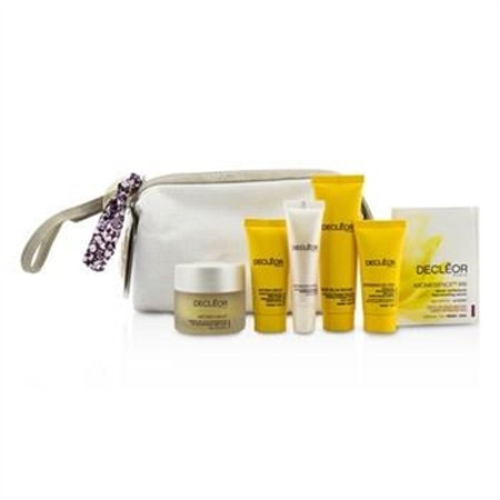 Decleor Gift Set: Night Balm 30ml + Rich Cream 15ml + Night Cream 15ml + Lip Balm 10ml + Massage Balm 25ml + Aromessenc Iris 1ml + Bag 6pcs+1bag Skincare