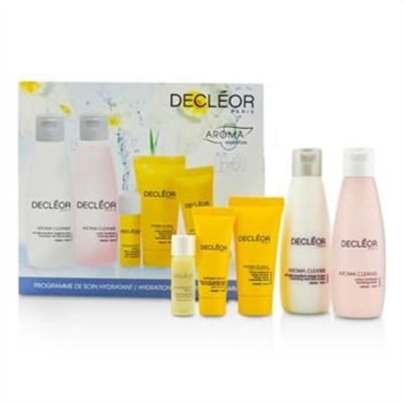 Decleor Hydration Starter Kit: Cleansing Milk 75ml + Tonifying Lotion 75ml + HydraFloral Cream 15ml + Neroli Serum 5ml + Neroil Balm 5ml 5pcs Skincare