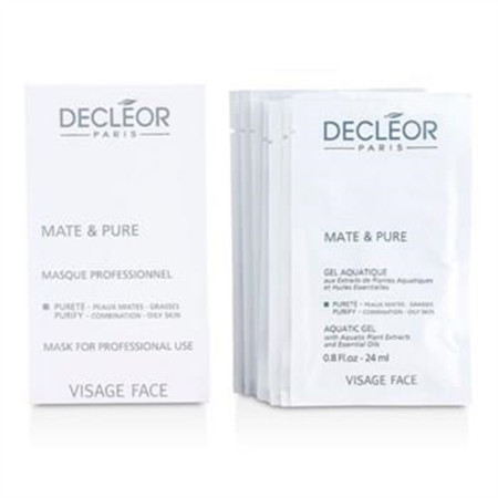 Decleor Mate & Pure Mask Vegetal Powder - Combination to Oily Skin (Salon Size) 10x5g Skincare