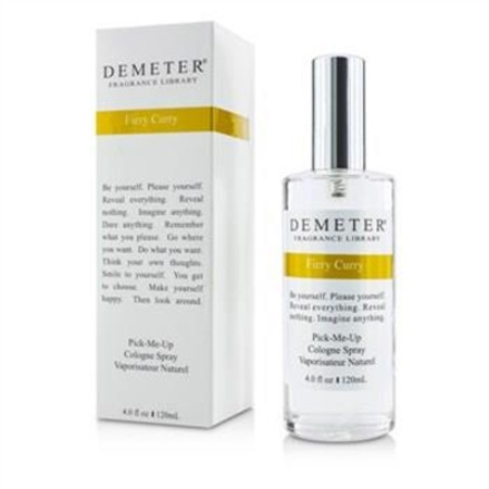 Demeter Fiery Curry Cologne Spray 120ml/4oz Men's Fragrance