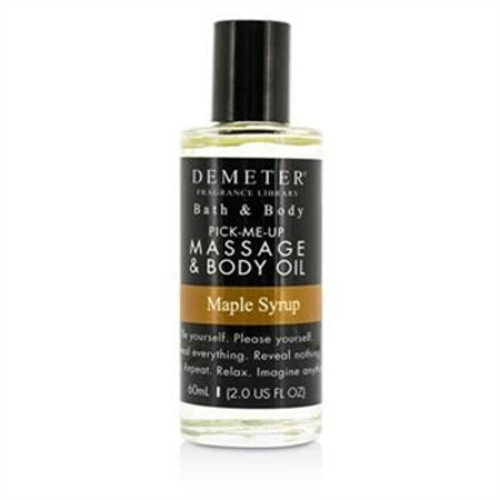 Demeter Maple Syrup Massage & Body Oil 60ml/2oz Ladies Fragrance