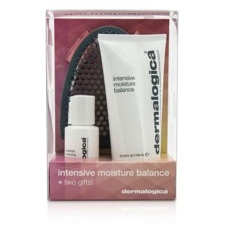 Dermalogica Intensive Moisture Balance Limited Edition Set: Intensive Moisture Balance 100ml + Essential Cleansing Solution 30ml + Facial Cleansing Mitt 3pcs Skincare