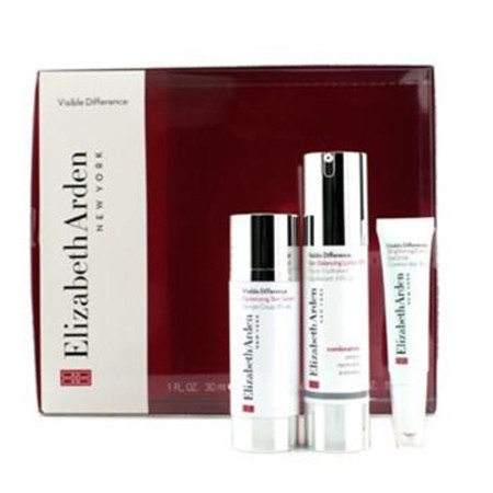 Elizabeth Arden Visible Difference Set: Balancing Lotion SPF15 50ml + Serum 30ml + Eye Gel 15ml 3pcs Skincare