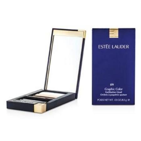Estee Lauder Graphic Color Eyeshadow Quad - No. 09 Sizzling Coral 8.5g/0.029oz Make Up