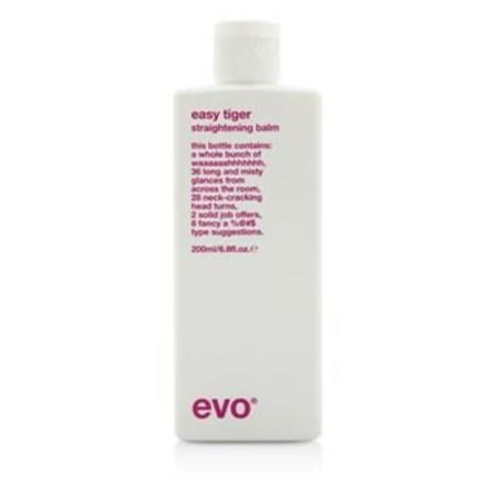 Evo Easy Tiger Straightening Balm (For All Hair Types, Especially Thick Coarse Hair) 200ml/6.8oz Hair Care