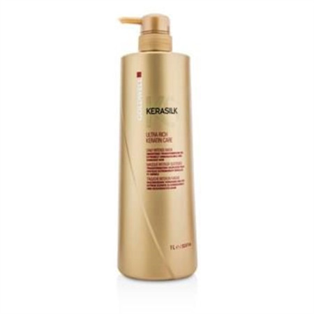 Goldwell Kerasilk Ultra Rich Keratin Care Daily Intense Mask - Smoothing Transformation (For Extremely Unmana 1000ml/33.8oz Hair Care