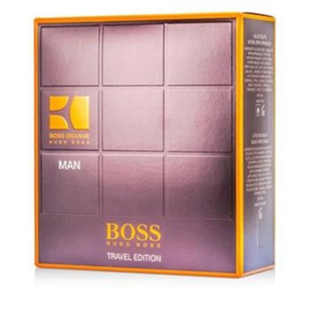 Hugo Boss Boss Orange Man Coffret: Eau De Toilette Spray 100ml/3.3oz + A/S Balm 50ml/1.6oz + Shower Gel 50ml/1.6oz 3pcs Men's Fragrance