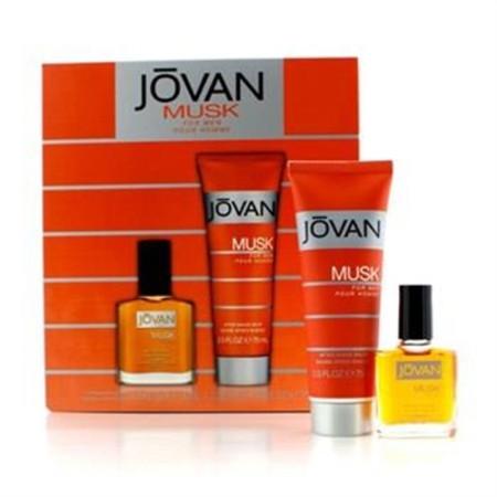 Jovan Musk Coffret: After Shave 15ml/0.5oz + After Shave Balm 75ml/2.5oz 2pcs Men's Fragrance