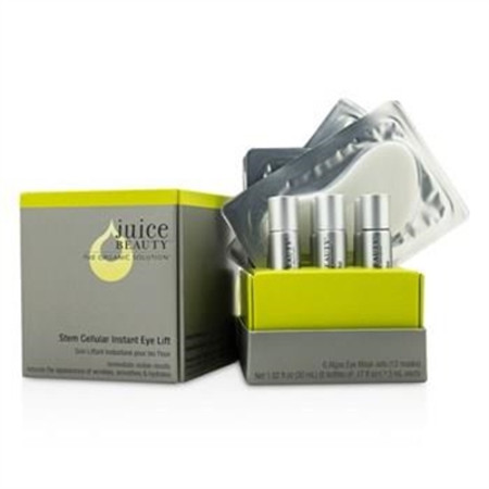 Juice Beauty Stem Cellular Instant Eye Lift: Algae Eye Mask + Activator (Box Slightly Damaged) 12pcs Skincare