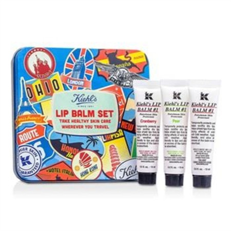 Kiehl's Lip Balm #1 Set: Lip Balm #1 15ml/0.5oz + Lip Balm #1 Cranberry 15ml/0.5oz + Lip Balm #1 Pear 15ml/0.5oz 3x15ml/0.5oz Skincare
