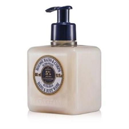 L'Occitane Shea Butter Ultra Rich Hands & Body Wash 300ml/10.1oz Skincare