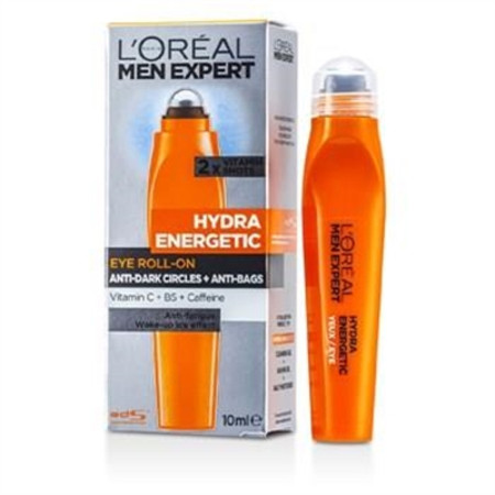 L'Oreal Men Expert Hydra Energetic Roll-on Eyes 10ml/0.33oz Men's Skincare